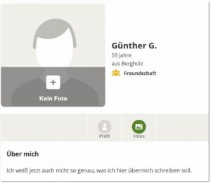 Single-Chat Profil von Günther